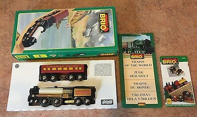 33431 Brio Wooden Royal Canadian Pacific Train of the World! Thomas! New!