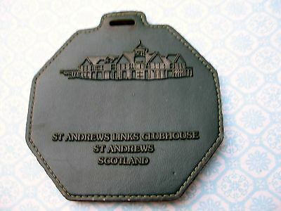 St. Andrews Links Clubhouse Scotland - Old Course - Golf Bag Tag