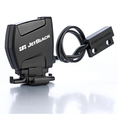 Jet Black Speed Sensor WhisperDrive Dual Band Technology (Bluetooth / ANT+)