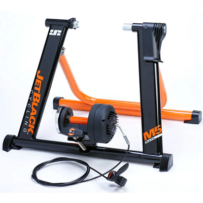 Jet Black M5-Pro - Magnetic Trainer with SQR Fit System + APP