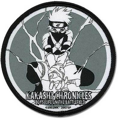 "Naruto Shippuden Anime KAKASHI CHRONICLES PATCH 3"" Licensed by GE Animation"