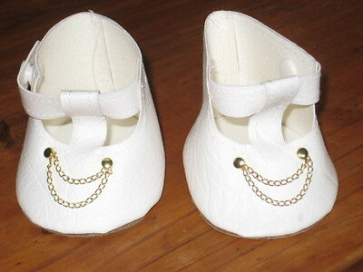 ****DOLL SHOES****White****