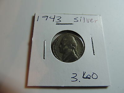 1943 US American Nickel coin A532
