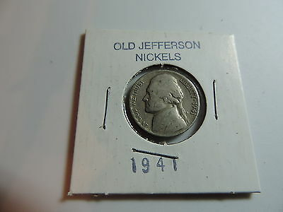 1941 US American Nickel coin A581