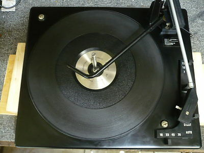 Vintage Bsr 4 Speed Automatic Record Player/changer