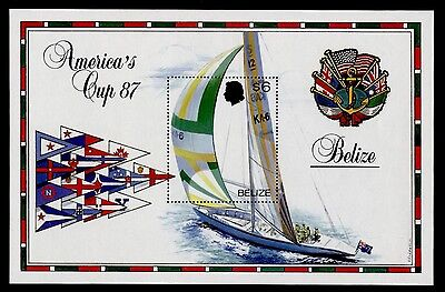 Belize 862 MNH America's Cup Yachting
