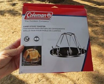 Coleman Camp Toaster 4 Slice New Camping Cookware Caravan Hiking OutDoors Picnic