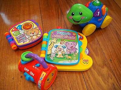 Fisher Price Toys Electronic Books Baby Toddler Pre School Educational Toys