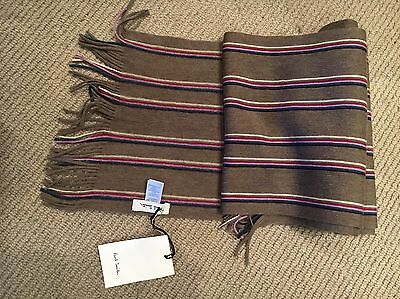 BNWT Paul Smith Wool Scarf