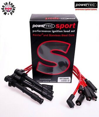 PowerTEC Sport Ignition HT Lead Set Ford Escort Sierra Cosworth RS 2.0 16v Turbo