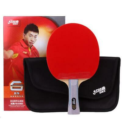 Table Tennis Rackets DHS 6002 Shake-hands Grip 6 Star Paddle Bat Long Handle