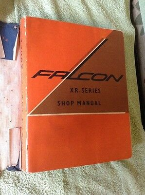 FORD FALCON XR SERIES genuine factory workshop manual GT FoMoCo 170 200 289 V8