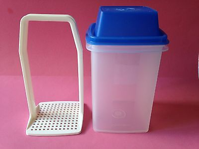 Tupperware: Pick-A-Deli. with Blue Lid. Excellent Used Condition.