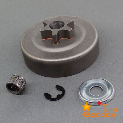 """3/8""""- 6T Clutch Drum Chain Sprocket For Stihl 017 018 Ms170 Ms 180 Ms210 Ms250"""