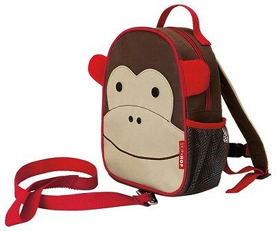 Backpack Safety Zoo Little Kid Toddler Children Safety Harness Marshall Monkey