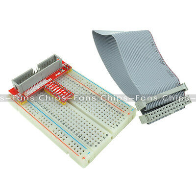 Raspberry Pi GPIO kit Extension Board Adapter Breadboard 26pin GPIO Ribbon Cable