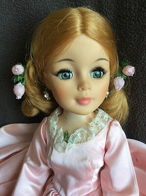 """Large Vintage RARE Madame Alexander JENNY LIND 21"""" Doll Gown Shoes Accessories"""