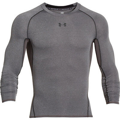 UNDER ARMOUR 1257471 HG Compression Armour Longsleeve Tee Shirt 090 - M