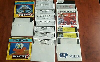commodore 64 128 games floppy 43 games!