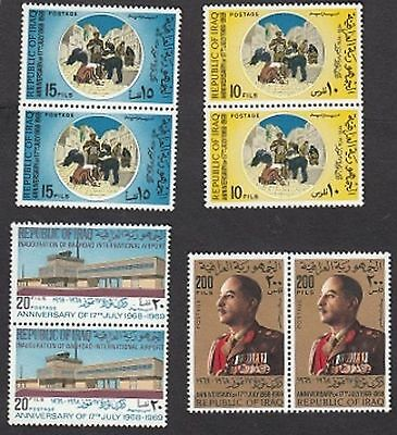 Anniversary Of 17Th July & Inauguration Of Baghdad International Airport1969 Mnh