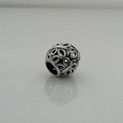 Pandora Sterling Silver Openwork Butterfly Charm 790895  Retired