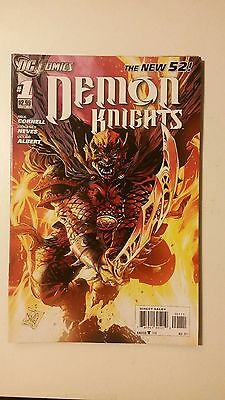 DEMON KNIGHTS #1 First Print 2011 series DC NEW 52