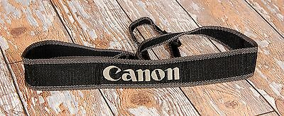 Canon EOS Charcoal GREY woven Camera strap  FREE UK POST