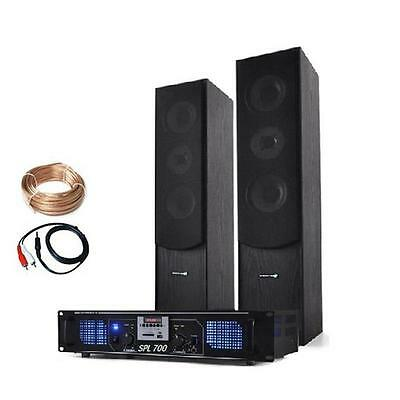 700W Home Cinema System Floor Standing Speakers Mp3 Usb Sd Fm Radio Amplifier
