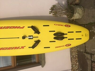F2 windsurf board, bag, two sails, boom, mast  all you need to get started