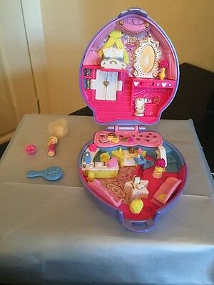 Vintage polly Pocket  Super Star Hair 100% Complete 1995 excellent condition