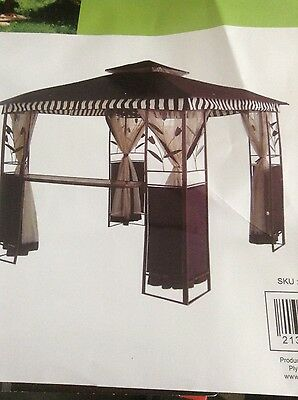 CANOPY ONLY for the Range Genoa 3m Square Patio Gazebo (377032)