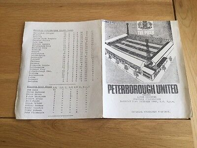 Peterborough United Reserves v Luton Reserves. 1968/9.