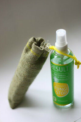 RESULT Fungi Stop foot & shoe organic deodorant 5oz against Smelling shoe & feet