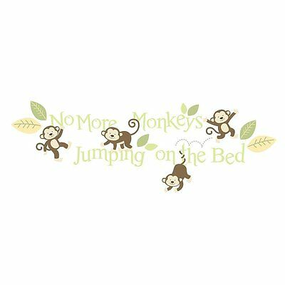 1 X Babies R Us By Design Monkey Wall Decals