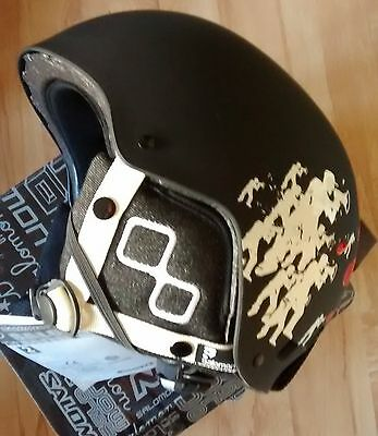 Casco Salomon JIB Junior Black matte Nocilla Talla 55-58