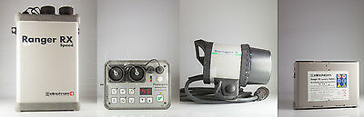 Elinchrom flash Ranger RX 1100 W power pack + NEW s Head + spare battery