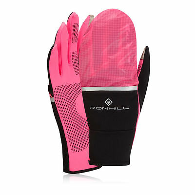 Ronhill Switch Womens Pink Thermalite Warm Running Training Sports Gloves size L