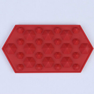 Fondant Maker Bar Mould Silicone Party Diamonds Chocolate Mold Ice Tray