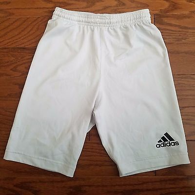Adidas White Compression Shorts | Size S, Small