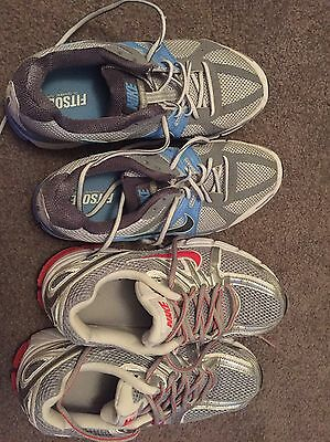 2 x Size US 9 Nike Running Shoes