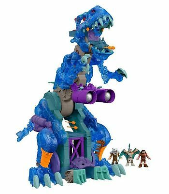 Fisher Price Imaginext Ultra T-Rex Ice Blue Playset