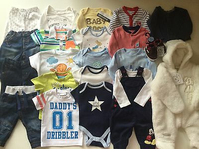 *Baby Boys Clothes/lovely Collection/bundle Of Baby Boys Clothing 0/3 Months*