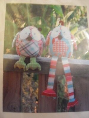 PATTERN - Hooty & Tweet - BIRD PATTERN by Melly and Me