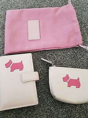 Radley. Leather Credit Card Holder and coin purse. With dust bag