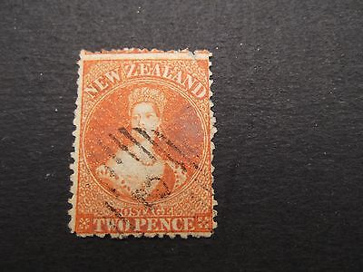 New Zealand - Victoria 1873 Two Pence Used