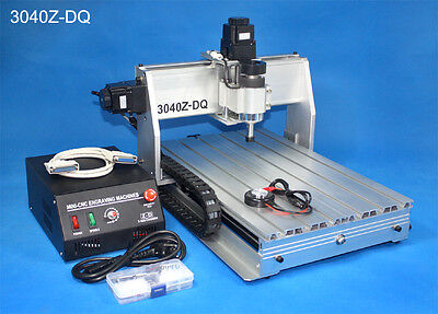 【USA Stock】 3 Axis 3040Z-DQ 300W CNC Router Engraving Milling Machine Kit 110V