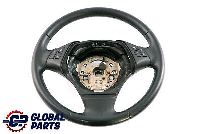 BMW 3 Series E90 E91 Leather Steering Wheel With Multifunction Buttons
