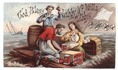 1880's Trade Card Libby McNeill & Libby's Corned Beef