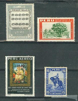 timbres perou stamps peru  *