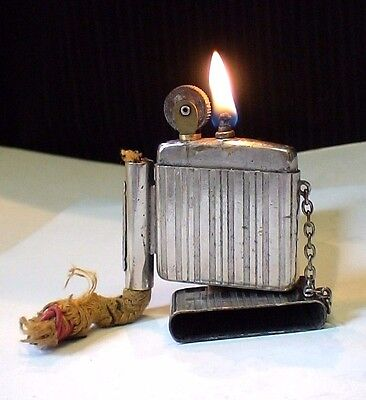 Briquet ancien @  FLAMIDOR PARIS le DUO  @ Vintage Lighter Feuerzeug Accendino